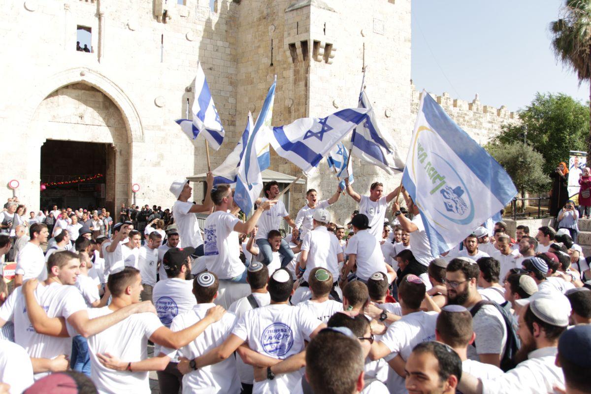 """""""נעלה את ירושלים על ראש שמחתנו"""""""